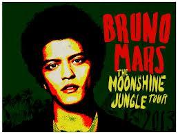Bruno Mars Moonshine Jungle turné