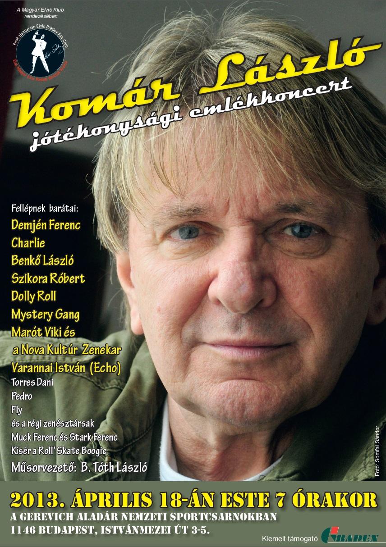Komár László Emlékkoncert
