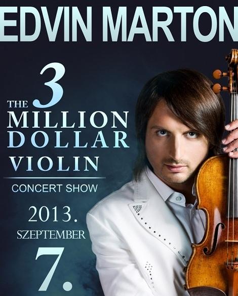 Edvin Marton - The 3 Million Dollar Violin koncert