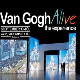 Van Gogh Alive kiállítás