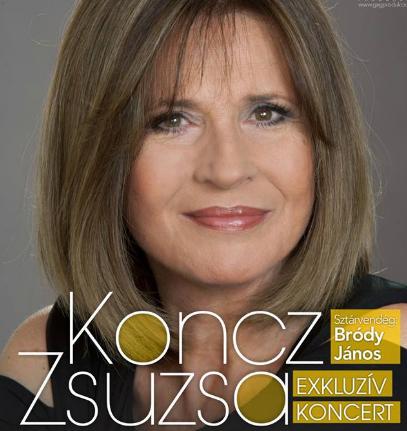 Koncz Zsuzsa koncert 2018
