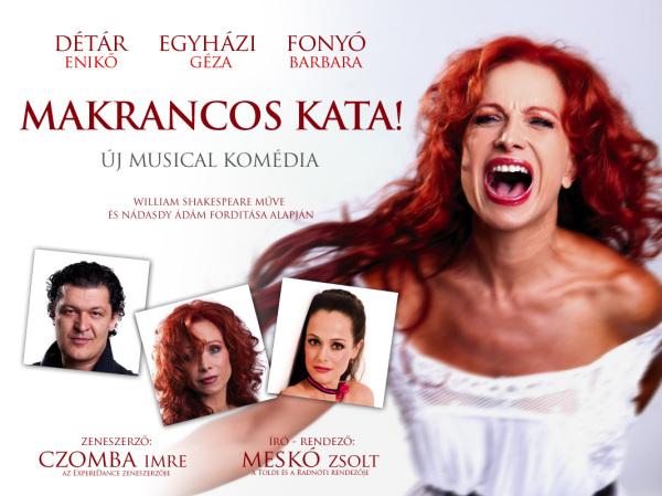 Makrancos Kata musical komédia