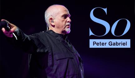 Peter Gabriel Back to front koncert