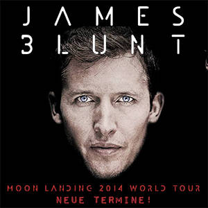 James Blunt - Moon Landing Tour 2014