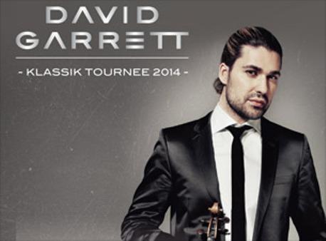 David Garrett koncert - Jegyek