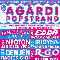 Agárdi Pop Strand 2014