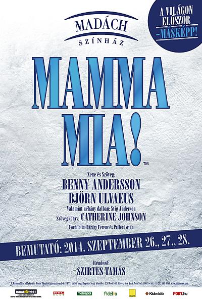 Mamma Mia musical - Madách Színház
