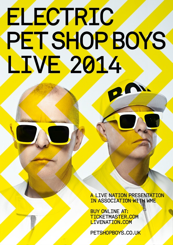 Pet Shop Boys koncert 2014