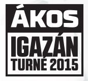 Ákos - Igazán turné 2015