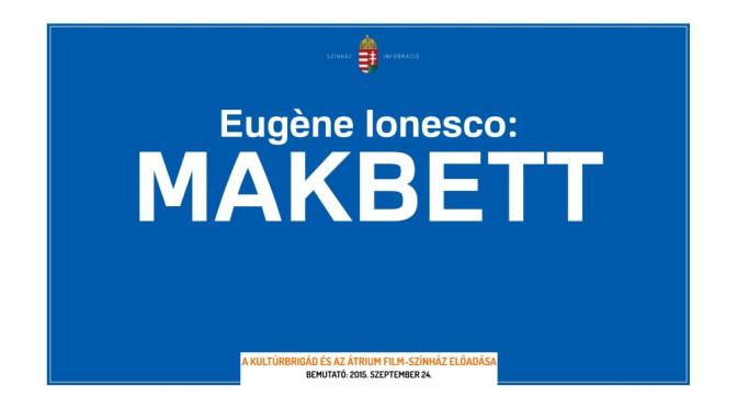 Eugène Ionesco - Makbett