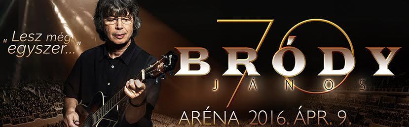Bródy János arénakoncert 2016