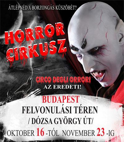 Horror Cirkusz Budapesten