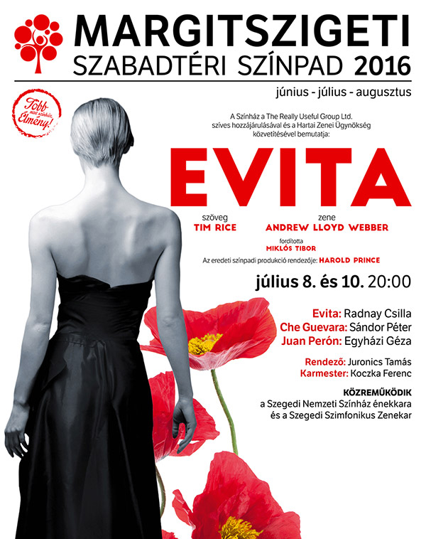 Evita musical - Margitsziget