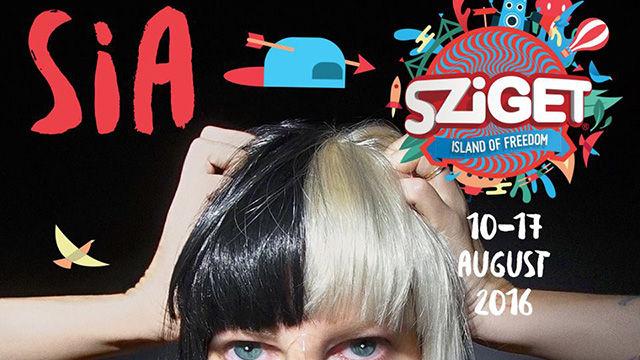 Sia koncert - Sziget Fesztivál