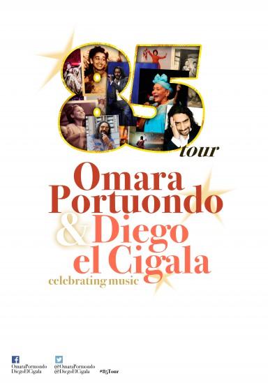 Omara Portuondo és Diego el Cigala koncert 2016