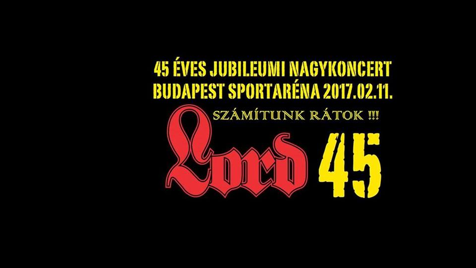 Lord 45 koncert