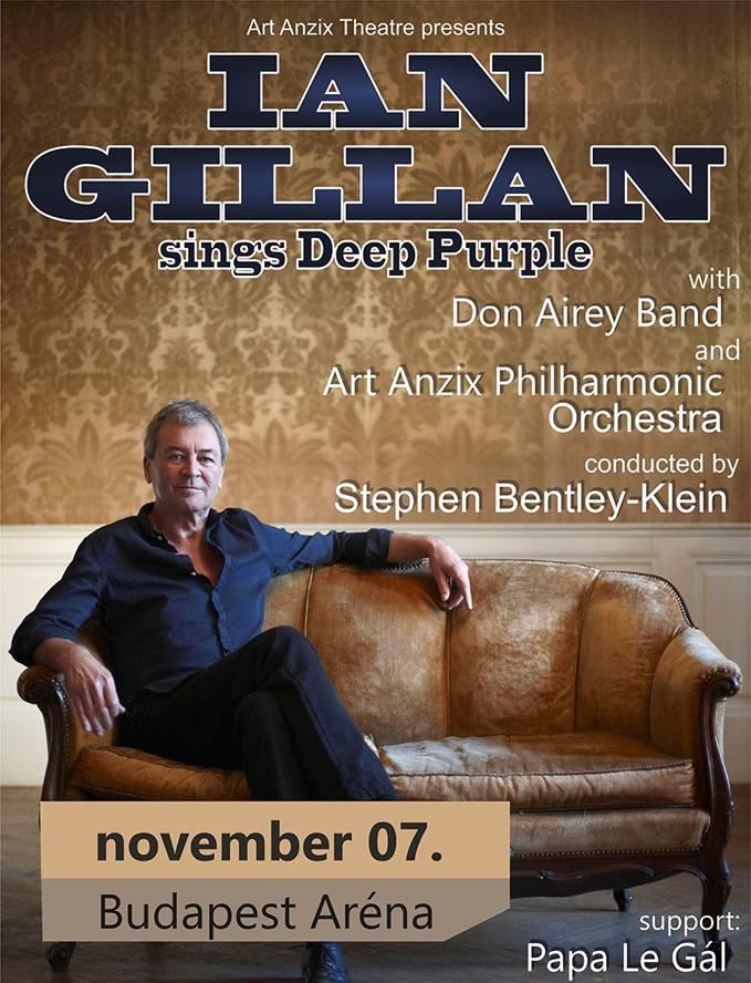 Ian Gillan koncert