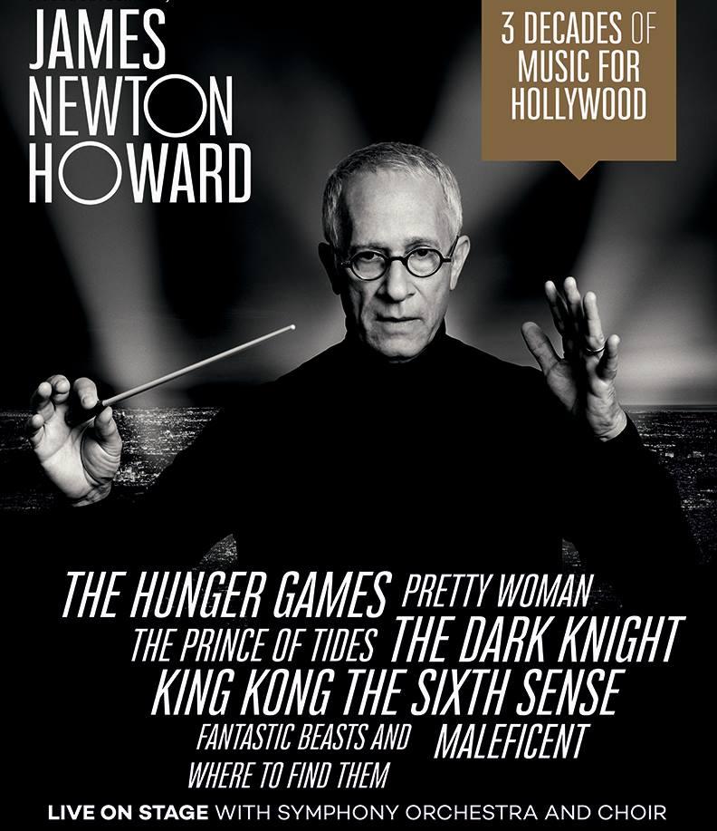 James Newton Howard koncert 2017