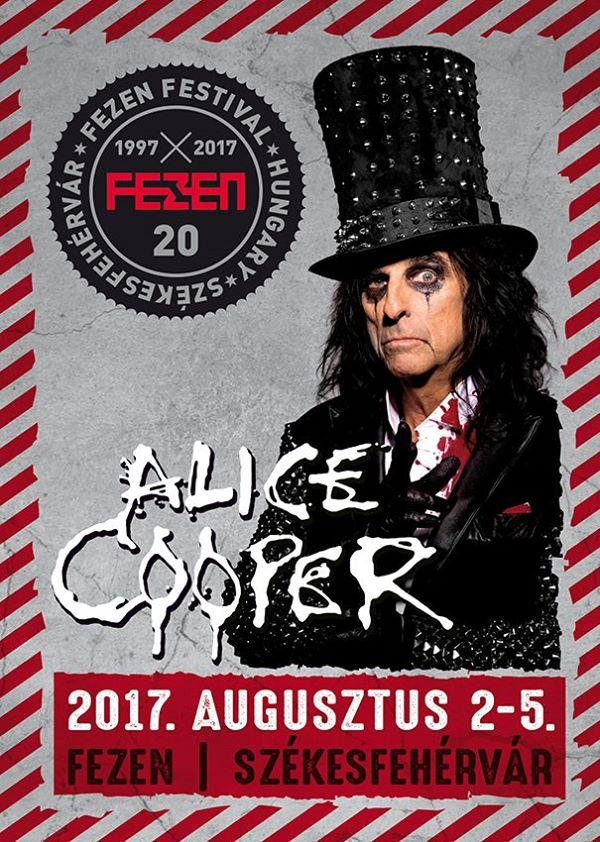 Alice Cooper koncert - FEZEN 2017