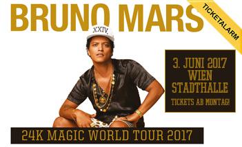 Bruno Mars koncert 2017 - Wiener Stadthalle
