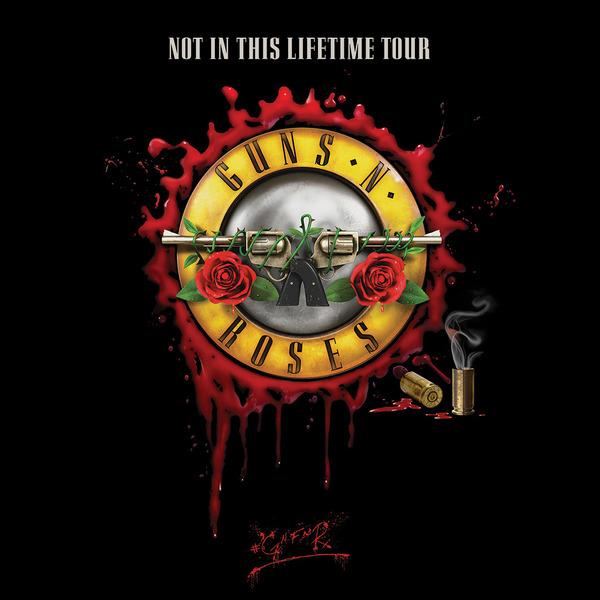 Guns N Roses koncert 2020 - Bécs