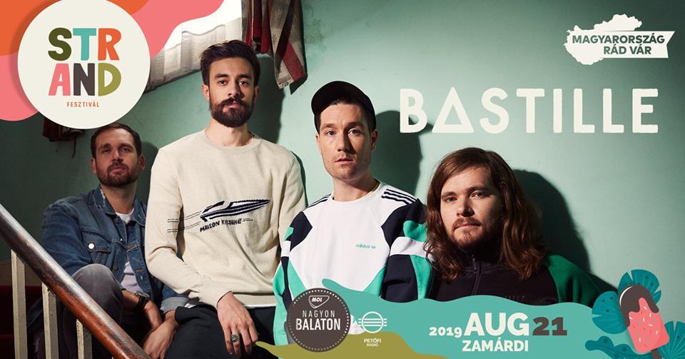 Bastille koncert - Strand Fesztivál
