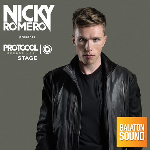 Nicky Romero koncert - Balaton Sound 2017