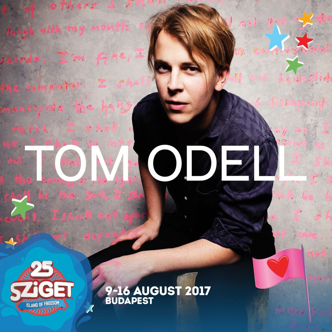 Tom Odell koncert 2019 - Sziget Fesztivál