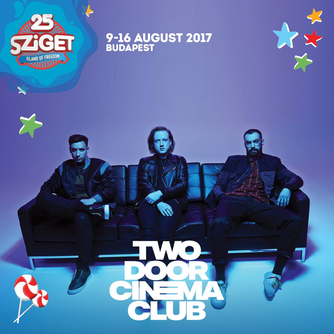 Two Door Cinema Club koncert 2017