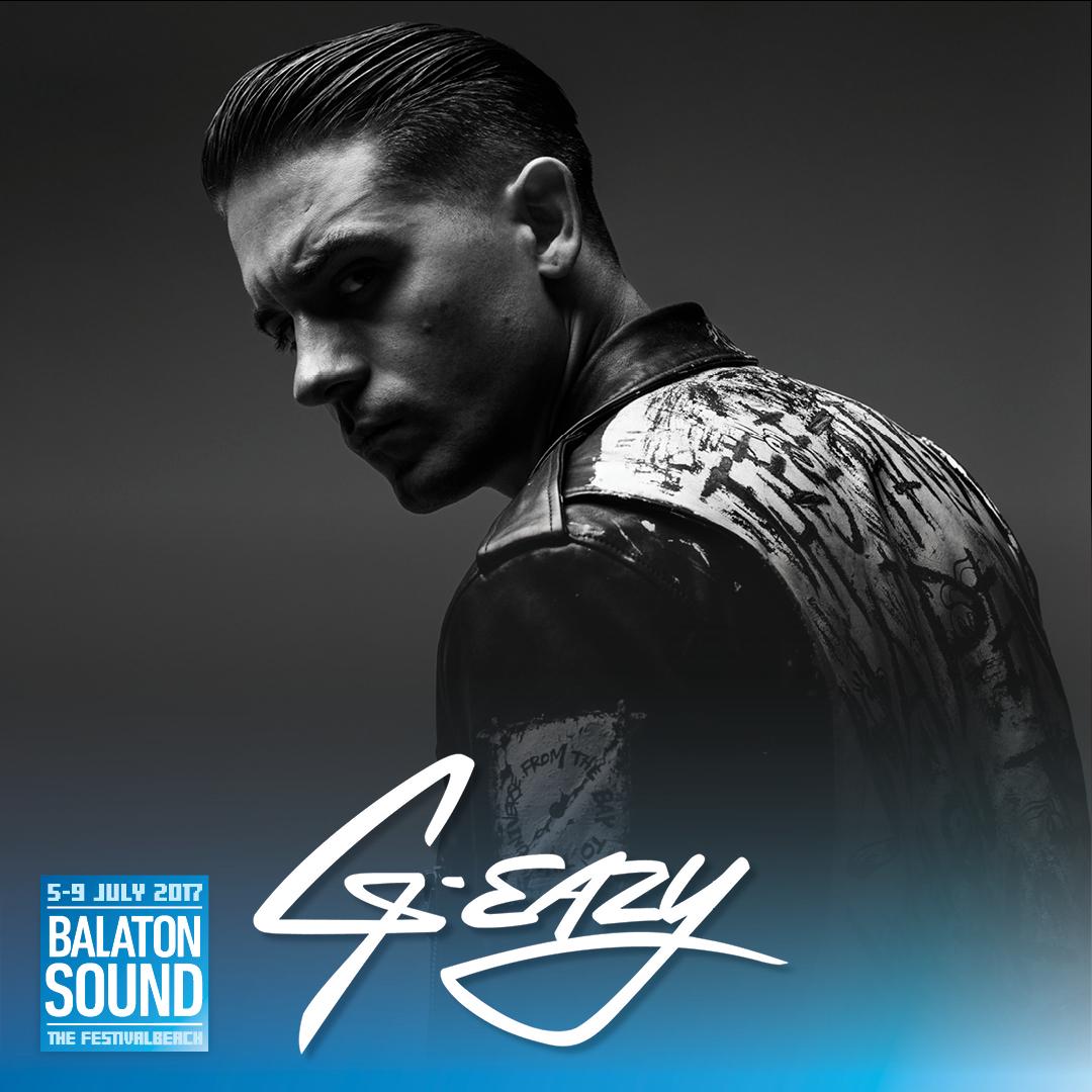 G-eazy koncert - Balaton Sound 2017