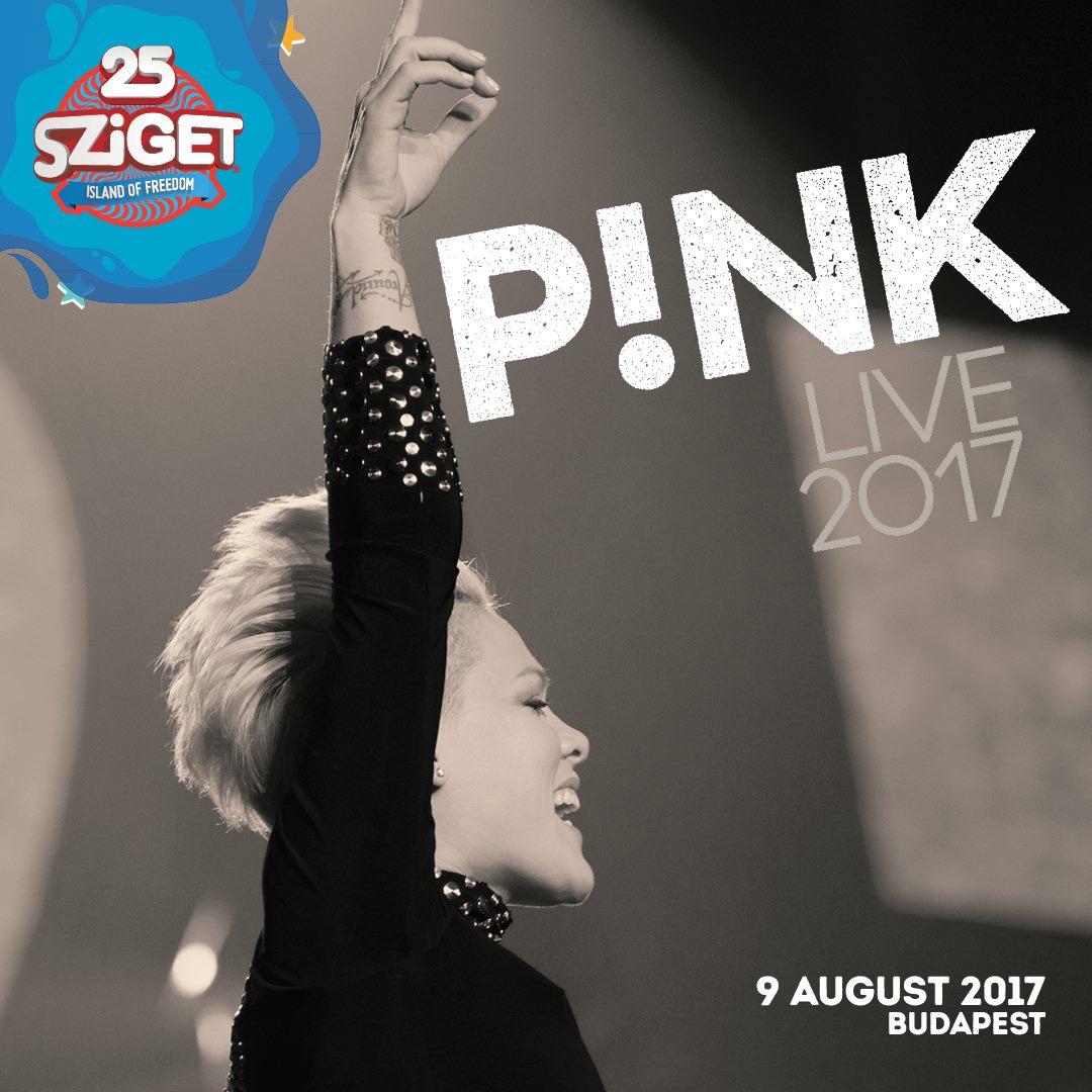 Pink koncert - Sziget 2017