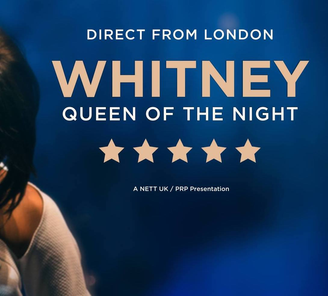 Whitney - Queen of the Night koncert Whitney Houston dalaival