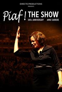 Piaf show 2017 turné