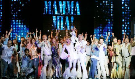 Mamma Mia musical - Debecen-Pécs-Győr-Nyíregyháza-Szolnok-Miskolc-Zalaegerszeg-Békéscsaba