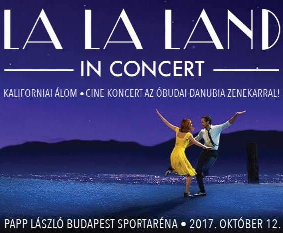La La Land koncert 2017 - Budapest Aréna