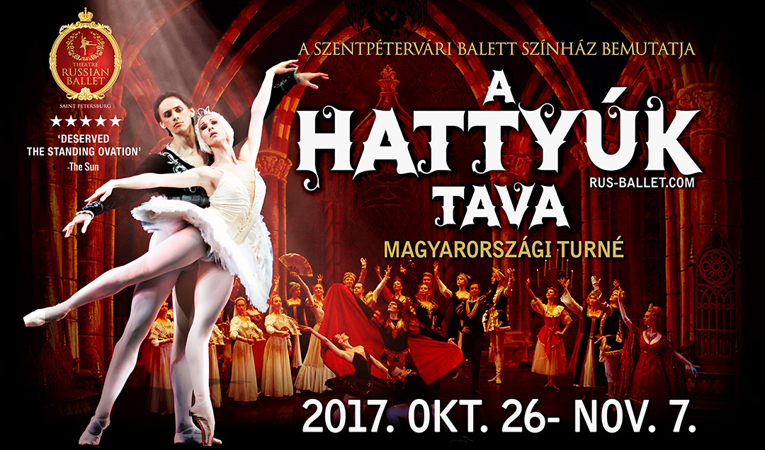 Szentpétervári Balett Színház: A Hattyúk Tava turné 2017