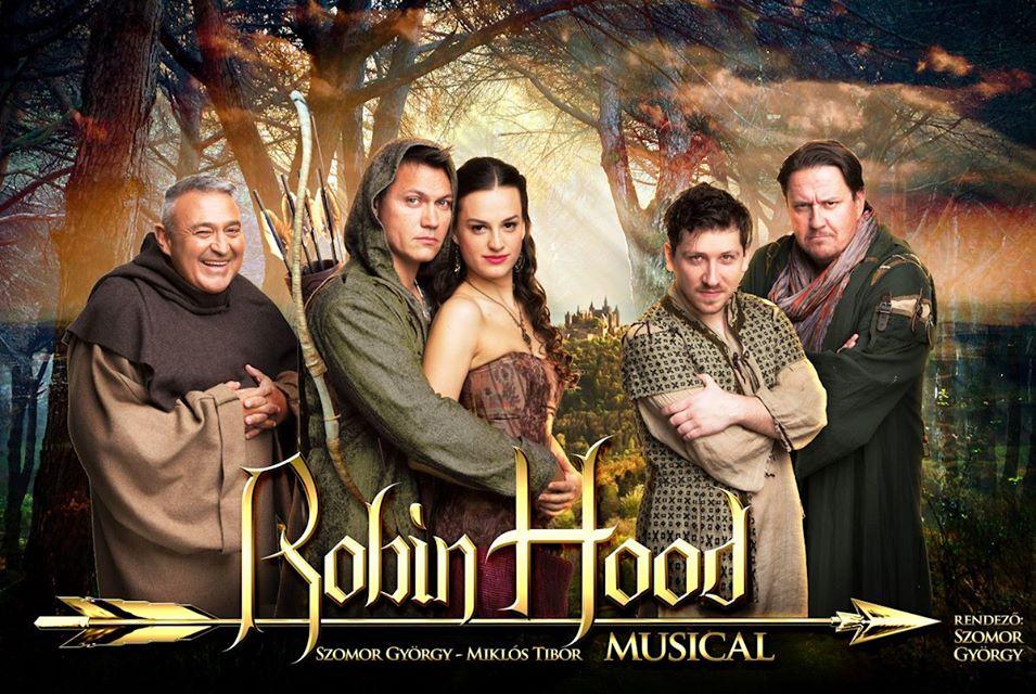 Robin Hood musical turné 2018