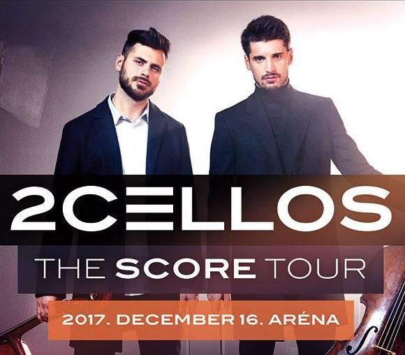 2Cellos koncert 2017