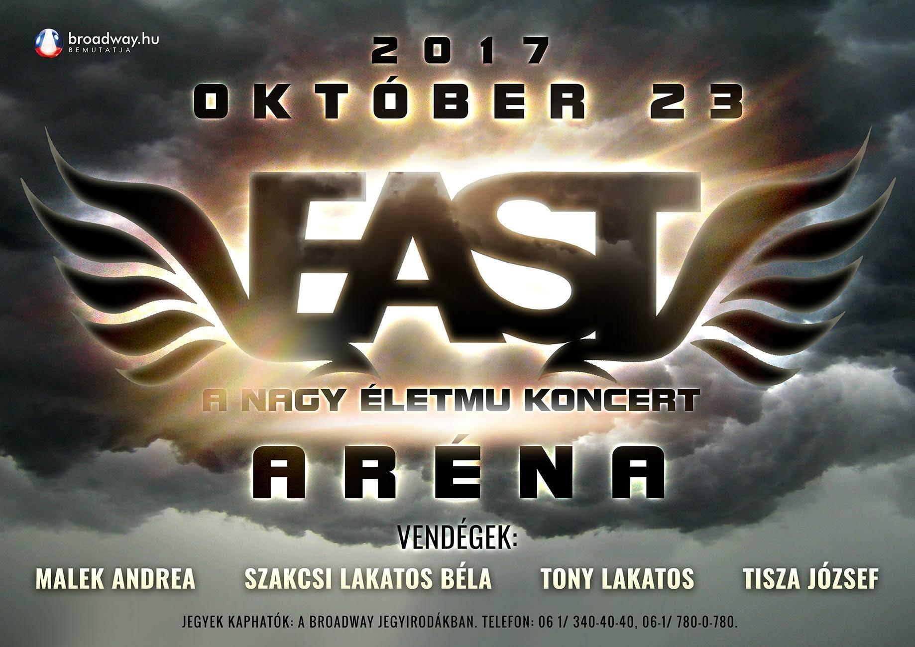 East koncert - Aréna