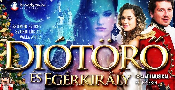 Diótörő és Egérkirály musical turné 2017 - Szolnok, Győr, Miskolc, Budapest