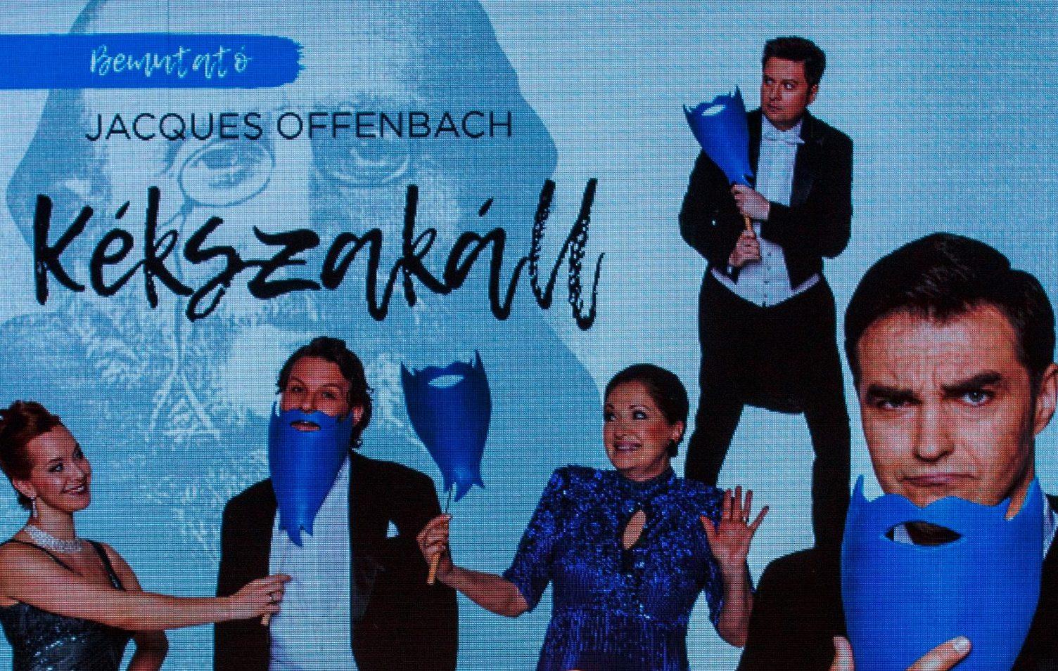 Kékszakáll az Operettszínházban