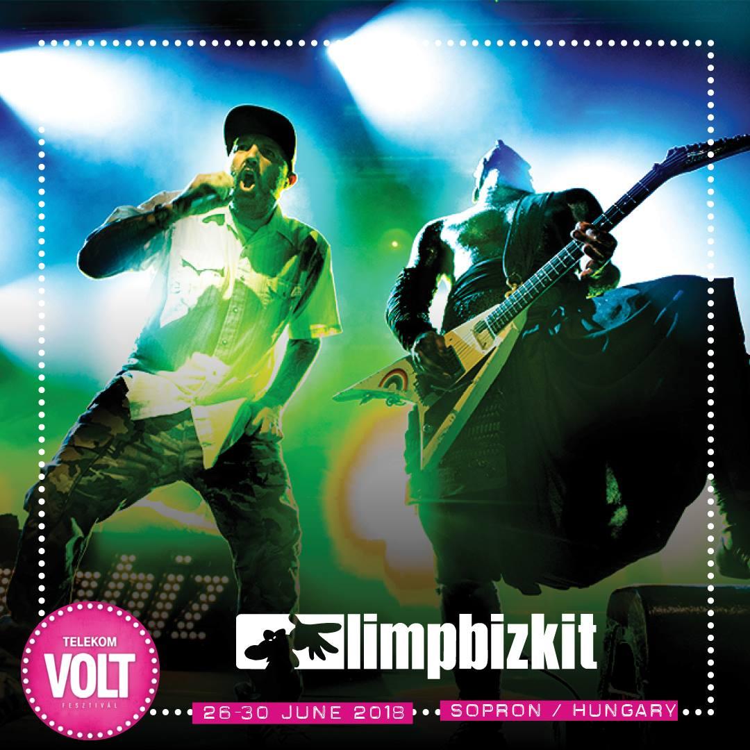 Limp Bizkit koncert 2018 - VOLT Fesztivál