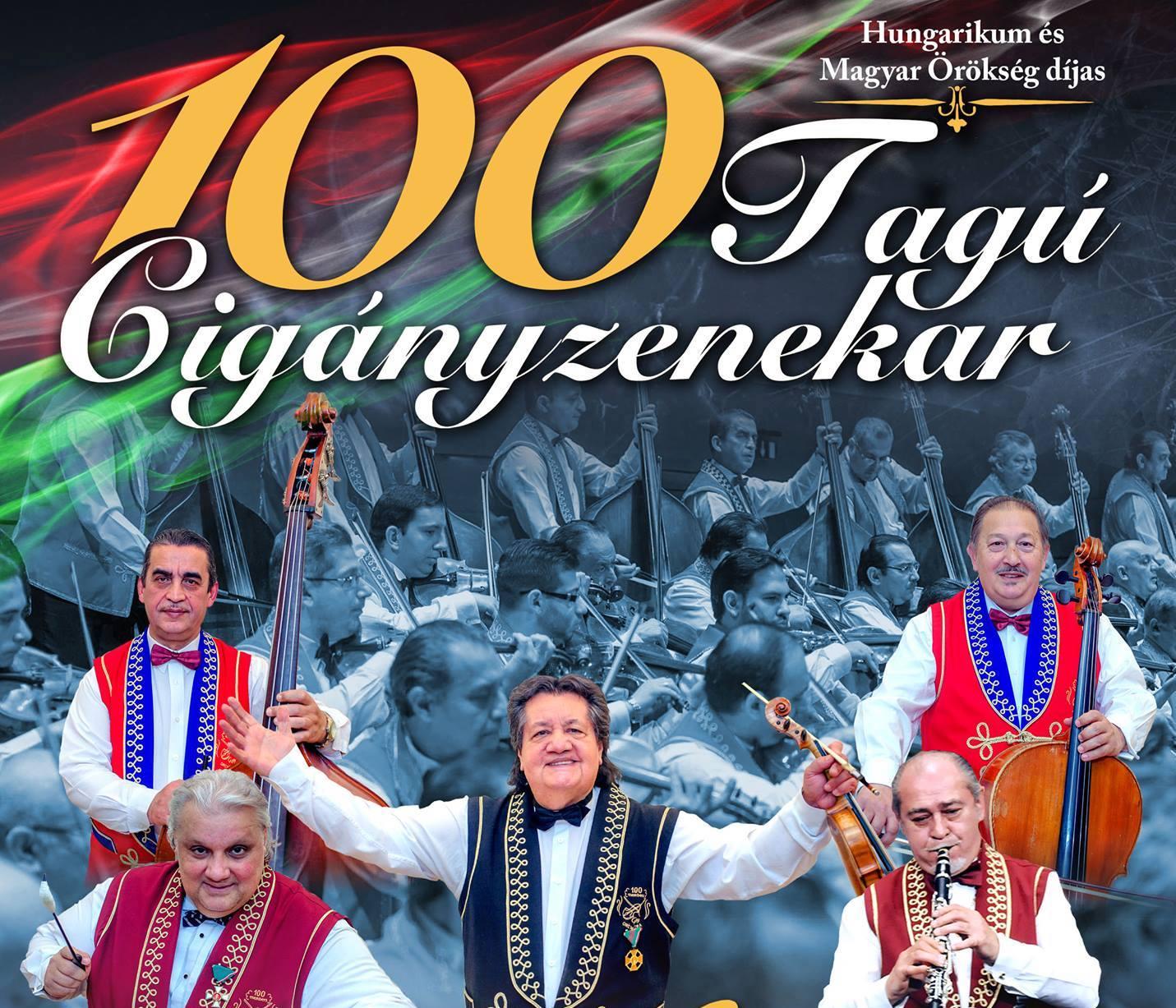 100 tagú cigányzenekar Aréna koncert 2018