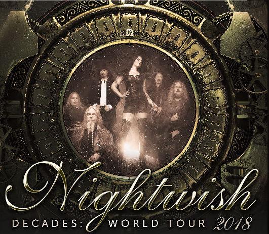 Nightwish koncert 2018