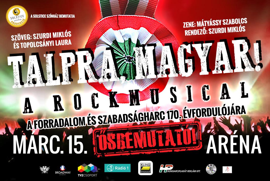Talpra magyar rockmusical