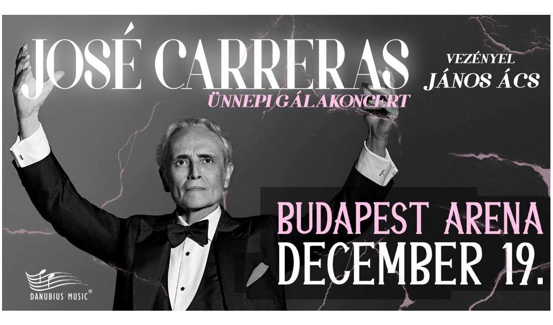 José Carreras koncert 2018 - Budapest Aréna