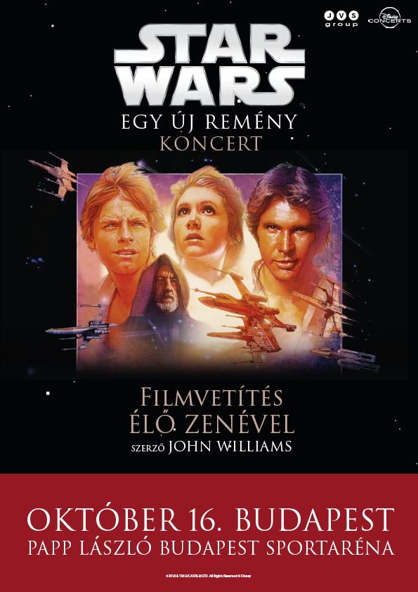 Star Wars koncert 2018