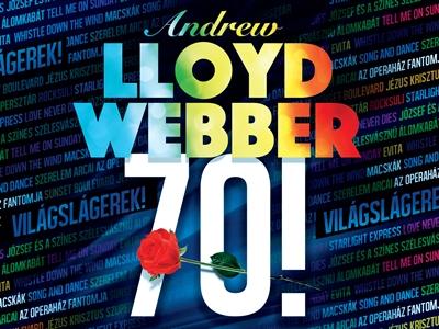 Andrew Lloyd Webber 70 szülinapi koncert