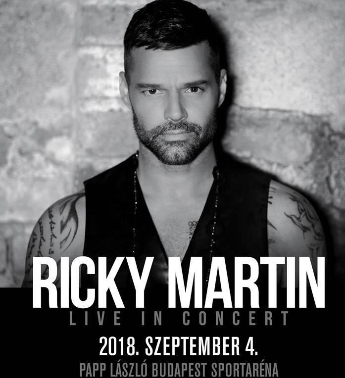 Ricky Martin koncert 2018