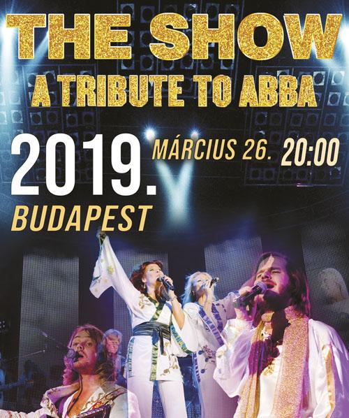 THE SHOW - ABBA emlékkoncert show 2019